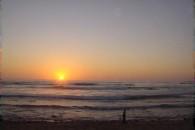 Puesta del Sol - Playa de los Quinquelles