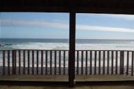 Vista desde tercera nivel casa chile - Frente la Playa