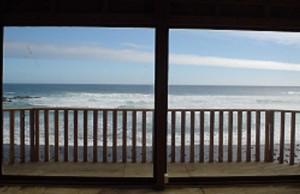 Vista del Mar desde Tercera Nivel del Casa Grande